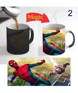 Spiderman Homecoming Movie Cartoon Coffee Mug Magic Color Change 11 Oz ... - $15.83