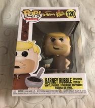 Funko POP! Ad Icons The Flintstones Cocoa Pebbles Barney Rubble #120 - $9.95