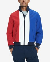 NWT Men's Tommy Hilfiger Yacht Jacket Outerwear Hoodie LARGE Color Block - $89.10