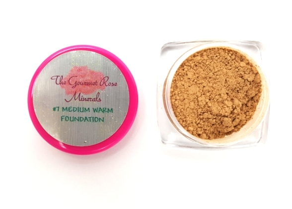 Primary image for #7 MEDIUM WARM Foundation Bare Makeup Sheer Mineral Minerals Sample Trial Jar