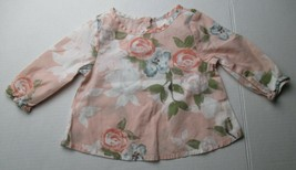 Infant Baby Girls 3-6 months Old Navy Floral Shirt - $3.00