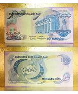 Vietnam 1971 RVN Money 1000.00 Dong Banknotes - $12.88