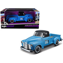 1950 Chevrolet 3100 Pickup Truck Blue with Black Top Madero Sano Surf Cl... - $33.79