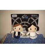 Hallmark Star Wars  Itty Bittys Han Solo & Princess Lela Set - $33.99