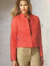 Vogue Sewing Pattern Anne Klein 1439 Misses Jacket Pants Size 6-14 New - $21.49