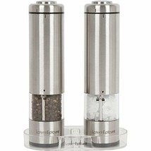 Latent Epicure Battery Operated Salt and Pepper Grinder Set (Pack Pack of 2 - £36.03 GBP