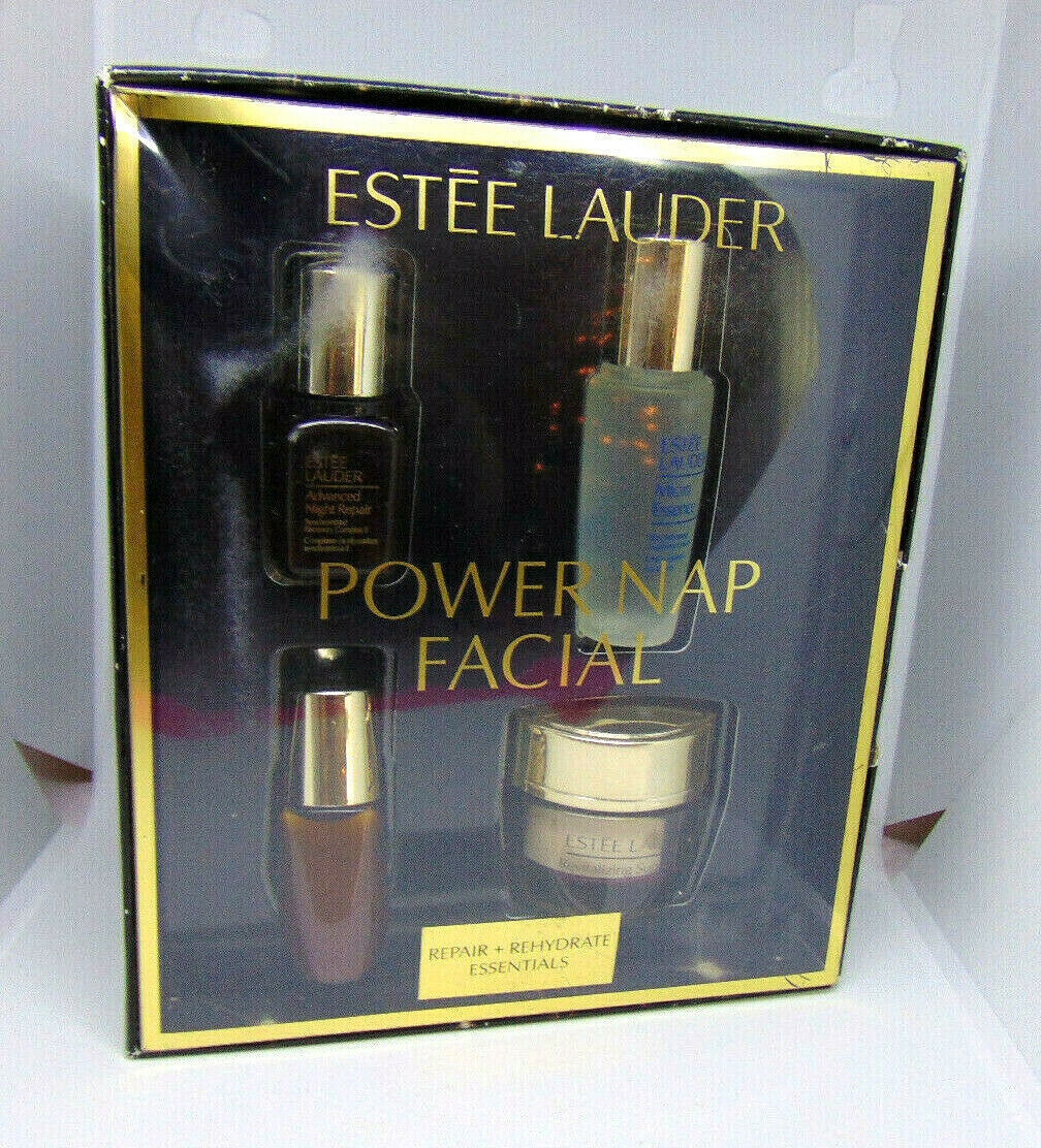 Primary image for ESTEE LAUDER POWER NAP FACIAL Repair + Rehydrate Essentials Set NIB