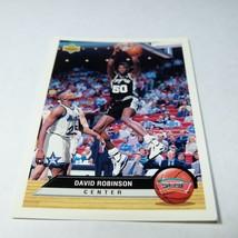1992-93 Upper Deck McDonald's Spurs Basketball Card #P37 David Robinson ... - $0.98