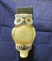 Big Brown Owl Night Light - New in Box - $9.95