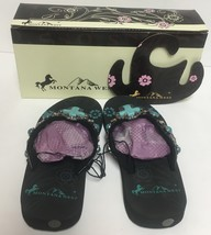 Kids Montana West Girls Sandals Shoes Turquoise Embellished Many Sizes image 5