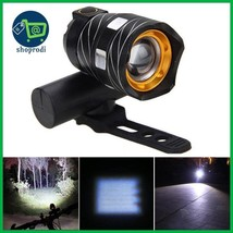 XANES ZL01 800LM T6 Bicycle Light Three Modes Zoomable Night Riding USB ... - $19.87