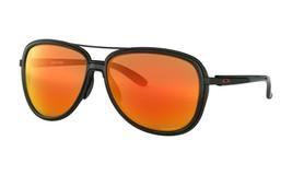 Oakley SPLIT TIME Sunglasses OO4129-0458 Matte Black Frame W/ PRIZM RUBY... - $79.19