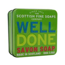 Scottish Fine Soap Well Done Soap in a Tin 3.5oz - $14.50