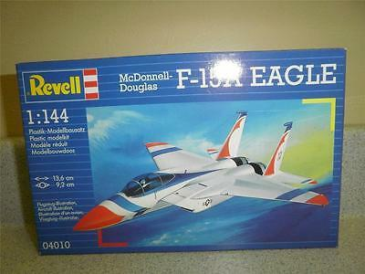 NEW MODEL- REVELL- 04010 MCDONNELL DOUGLASS F-15A EAGLE- 1:144 SCALE- NEW- W53