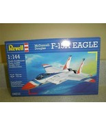 NEW MODEL- REVELL- 04010 MCDONNELL DOUGLASS F-15A EAGLE- 1:144 SCALE- NE... - $7.47