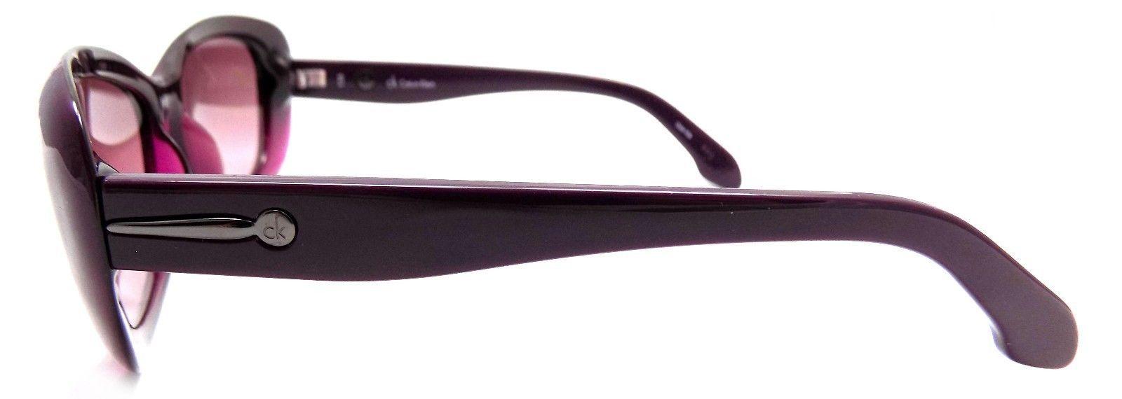 GENUINE Calvin Klein Sunglasses CK 3131S 233 Dark Plum 56x15x135 Pink Gradient