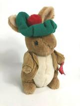 Beatrix Potter Peter Rabbit Benjamin Bunny Plush Stuffed Animal Vtg Eden - $39.59