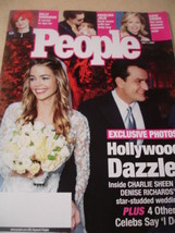 july 2002 People Magazine Charlie Sheen Denise Richards cover Angelina J... - $1.99