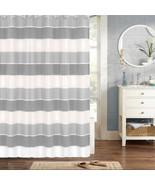 """Bathroom Shower Curtain 70""""x72"""" Gray Popular Bath Modern Line - $33.99"""