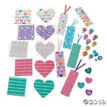 Valentine Stationery Assortment Bookmarks Notepads Stampers Erasers, Set... - $13.62
