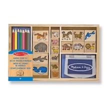 Melissa & Doug 13798 Animal Stamp Set  - $26.00