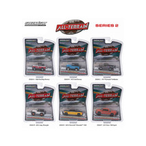 All Terrain Series 2, 6pc Diecast Car Set 1/64 by Greenlight 35020 - $46.88