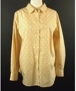 LANDS' END Plus Size 24W New No-Iron Supima Cotton Shirt Blouse - $29.99