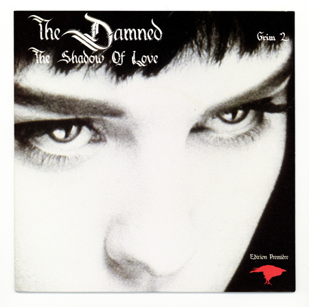 "Primary image for goth punk THE DAMNED Shadow of Love ORIG 1985 uk 7"" PS"