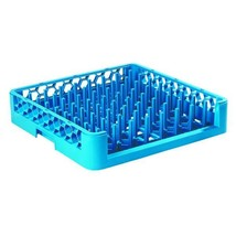 19.75x19.75 in. Open End Tall Peg Dishwashing Rack in Blue (Case of 6) - $259.55