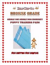 Bronze Dog Puppy 17x24 Pet Housebreaking Pad, Pee Training Pads,Underpad - $29.75+