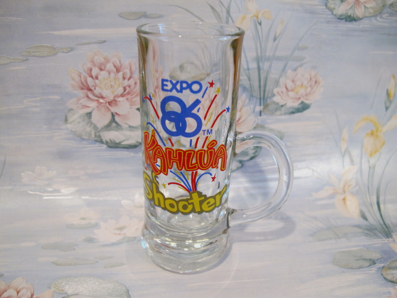 Primary image for Expo 86 Vancouver BC Kahlua Shooter Shot Glass Souvenir Collectible