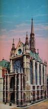 PARIS in 1900s Beautiful Chromotype Photo - Sainte Chapelle Gothic Royal... - $16.20