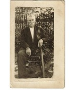Early Real Photo PC - Man With One Leg - $45.00
