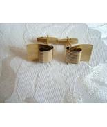Vintage Gold-tone Cuff Links ~ Estate Find - $5.00
