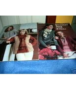 Sweater Sets to Knit & Crochet Leaflet No 164 Leisure Arts - $3.00