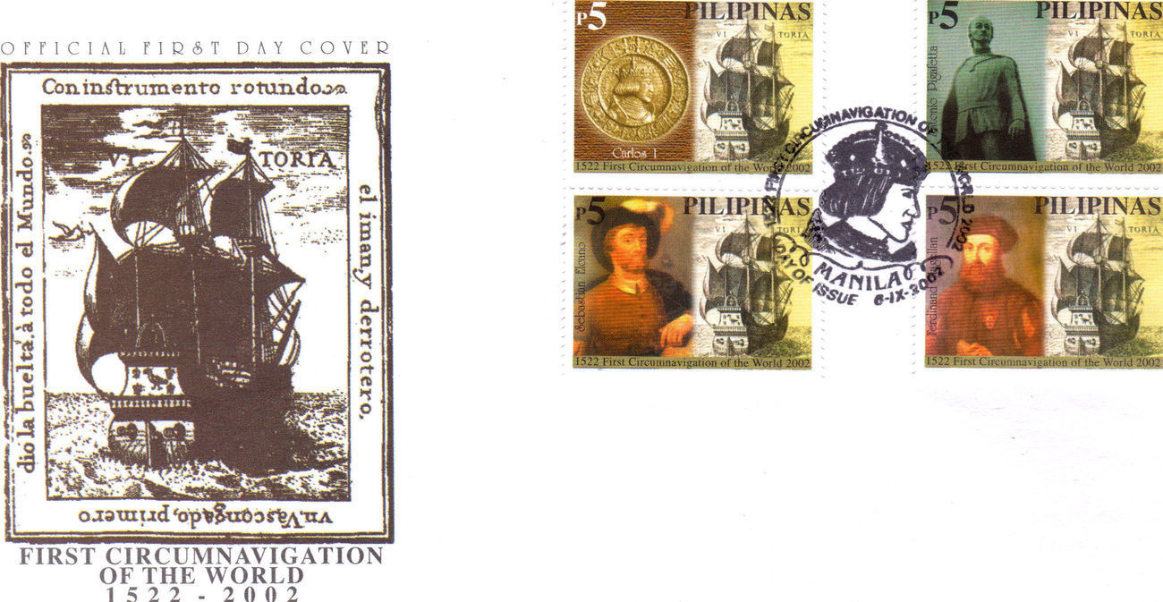 Primary image for 1ST CIRCUMNAVIGATION OF THE WORLD 1522-2202 Philippines Firs