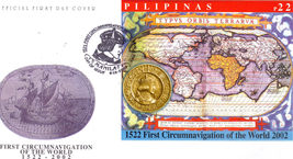 First Circumnavigation Of The World 1522-2002 Pilipinas Firs - $3.95