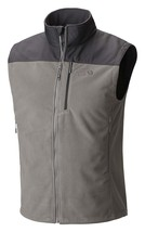 MENS S SMALL Mountain Hardwear Mountain Tech II Vest TITANIUM SHARK GREY... - $79.99