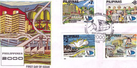 PHILIPPINES 2000 First Day of Issue - $3.95