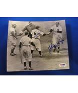 1952 WS GAME 4 YOGI BERRA JOHNNY MIZE YANKEES DODGERS SIGNED PRESS PHOTO... - $149.99