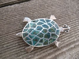 Mexico Miguel Melendez Sterling silver Mosaic I... - $80.00