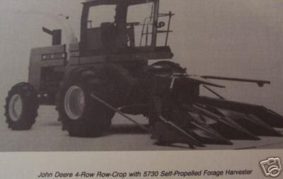 Primary image for John Deere Four-Row Corn Heads for 5200,5400,5440,5460 Forage Harvesters Manual