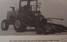 John Deere Four-Row Corn Heads for 5200,5400,5440,5460 Forage Harvesters Manual - $10.00