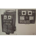 John Deere TY5163, TY5157 Battery Chargers Operator's Manual - $10.00