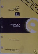 John Deere 72E Electric String Trimmer Operator's Manual - $10.00