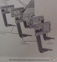 John Deere 23B Toolbar Operator's Manual - $12.00