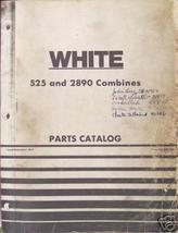 White, Oliver, MM  525, 2890 Combines Parts Manual - $44.00