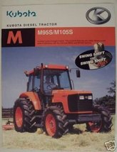 2004 Kubota M95SDSC, M105SDSC, M105SHC, M105SHDC Tractors Brochure - $8.00