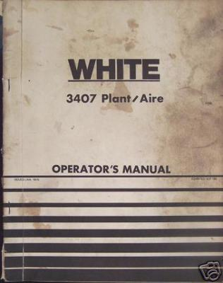 Primary image for White 3407 'Plant Aire' Planter Operator's Manual