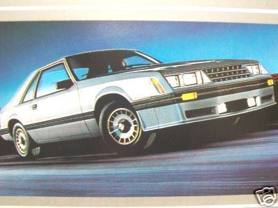 Primary image for 1982 Ford Mustang Brochure